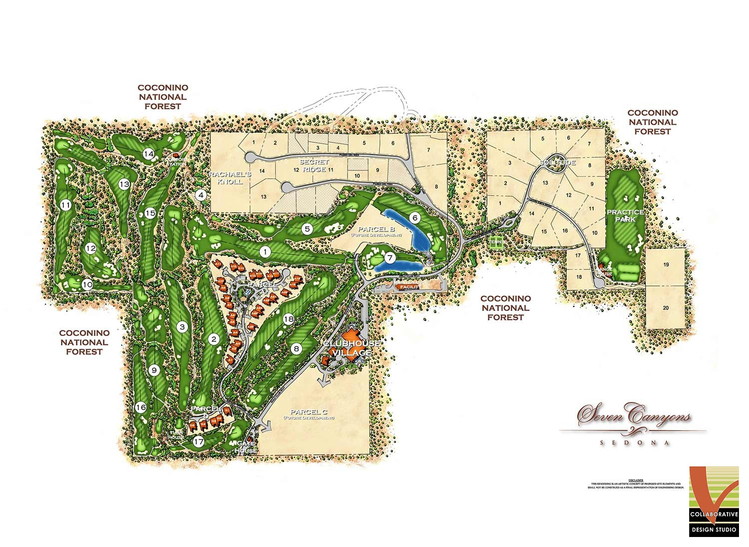 Seven Canyons Planning