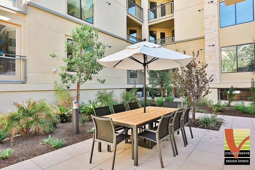 Patio Dining Furniture with Umbrella