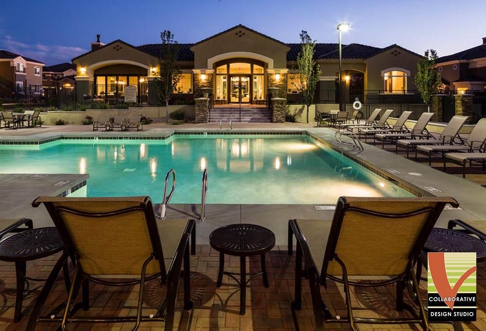 Broadstone Santa Monica Poolside Landscape Design
