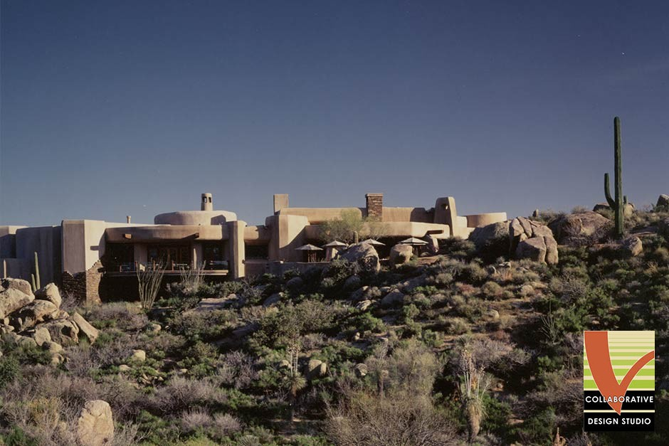 Desert Mountain Apache Clubhouse, Hillside View