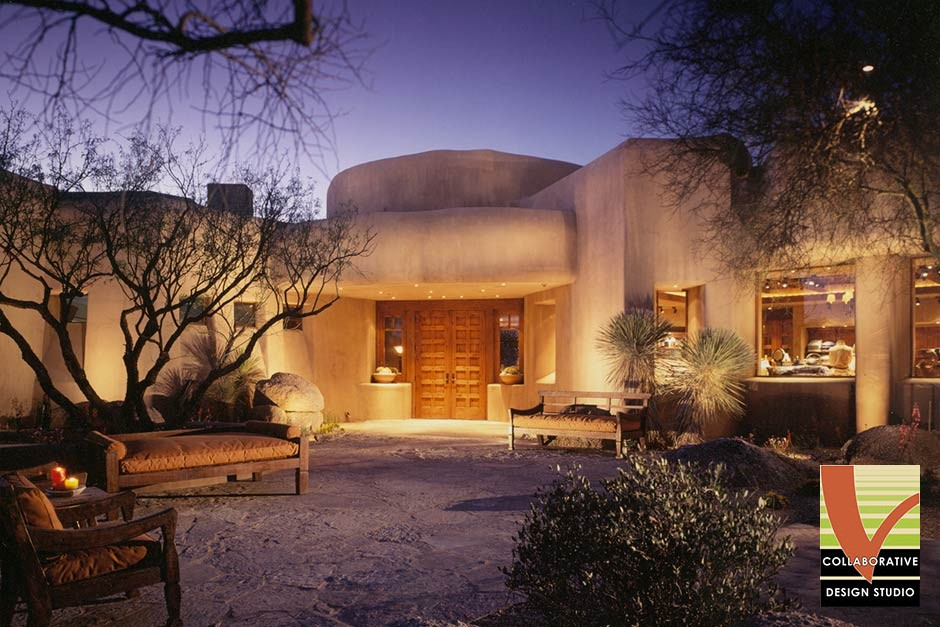 Desert Mountain Apache Clubhouse, Night View