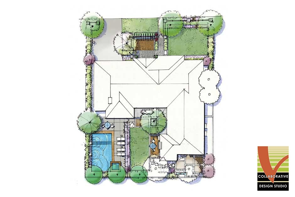 Professional Landscape Design for Single Family Home